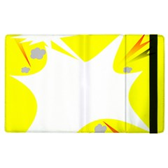 Mail Holyday Vacation Frame Apple iPad 3/4 Flip Case