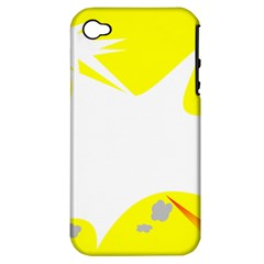 Mail Holyday Vacation Frame Apple Iphone 4/4s Hardshell Case (pc+silicone)