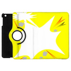Mail Holyday Vacation Frame Apple Ipad Mini Flip 360 Case