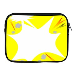 Mail Holyday Vacation Frame Apple Ipad 2/3/4 Zipper Cases