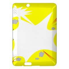 Mail Holyday Vacation Frame Kindle Fire Hdx Hardshell Case
