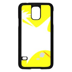 Mail Holyday Vacation Frame Samsung Galaxy S5 Case (black)