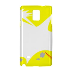 Mail Holyday Vacation Frame Samsung Galaxy Note 4 Hardshell Case