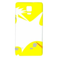 Mail Holyday Vacation Frame Galaxy Note 4 Back Case