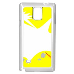 Mail Holyday Vacation Frame Samsung Galaxy Note 4 Case (white)
