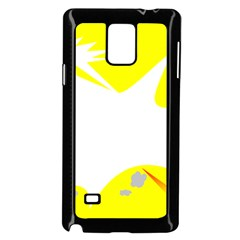 Mail Holyday Vacation Frame Samsung Galaxy Note 4 Case (black)