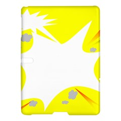 Mail Holyday Vacation Frame Samsung Galaxy Tab S (10 5 ) Hardshell Case