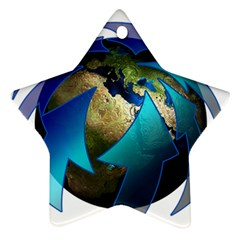 Migration Of The Peoples Escape Ornament (star)