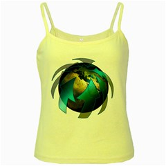 Migration Of The Peoples Escape Yellow Spaghetti Tank