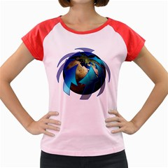 Migration Of The Peoples Escape Women s Cap Sleeve T Shirt