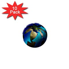 Migration Of The Peoples Escape 1  Mini Buttons (10 Pack)