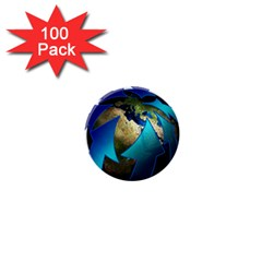 Migration Of The Peoples Escape 1  Mini Buttons (100 Pack)