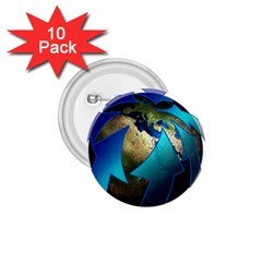 Migration Of The Peoples Escape 1 75  Buttons (10 Pack)
