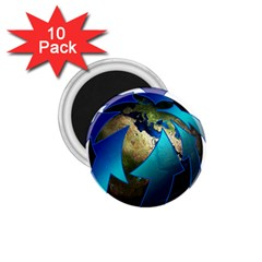 Migration Of The Peoples Escape 1 75  Magnets (10 Pack)