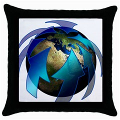Migration Of The Peoples Escape Throw Pillow Case (black)