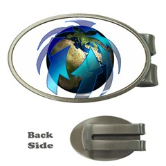 Migration Of The Peoples Escape Money Clips (oval)