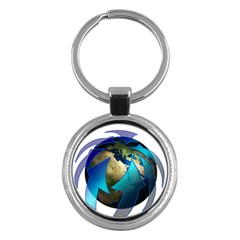 Migration Of The Peoples Escape Key Chains (Round)