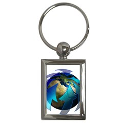 Migration Of The Peoples Escape Key Chains (Rectangle)