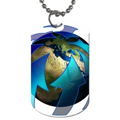 Migration Of The Peoples Escape Dog Tag (one Side)