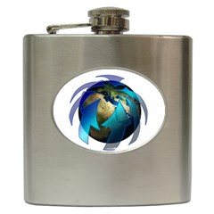 Migration Of The Peoples Escape Hip Flask (6 Oz)