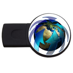Migration Of The Peoples Escape Usb Flash Drive Round (4 Gb)