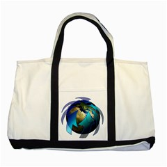 Migration Of The Peoples Escape Two Tone Tote Bag