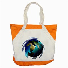Migration Of The Peoples Escape Accent Tote Bag