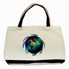 Migration Of The Peoples Escape Basic Tote Bag (two Sides)