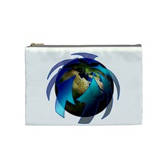 Migration Of The Peoples Escape Cosmetic Bag (medium)