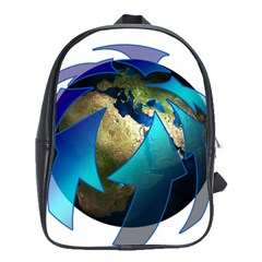 Migration Of The Peoples Escape School Bags(large)