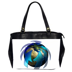Migration Of The Peoples Escape Office Handbags (2 Sides)