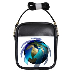 Migration Of The Peoples Escape Girls Sling Bags
