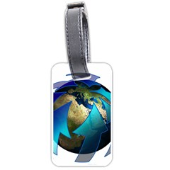 Migration Of The Peoples Escape Luggage Tags (two Sides)