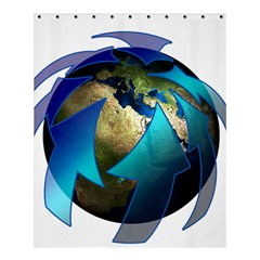 Migration Of The Peoples Escape Shower Curtain 60  X 72  (medium)
