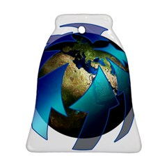 Migration Of The Peoples Escape Bell Ornament (two Sides)