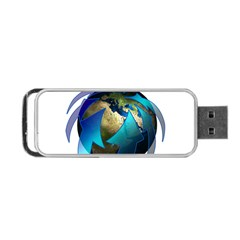 Migration Of The Peoples Escape Portable Usb Flash (one Side)