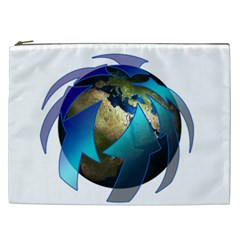 Migration Of The Peoples Escape Cosmetic Bag (xxl)