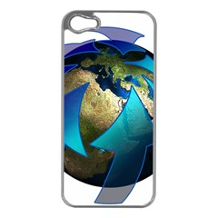 Migration Of The Peoples Escape Apple Iphone 5 Case (silver)