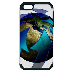 Migration Of The Peoples Escape Apple Iphone 5 Hardshell Case (pc+silicone)
