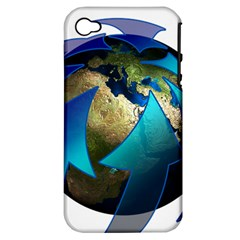 Migration Of The Peoples Escape Apple Iphone 4/4s Hardshell Case (pc+silicone)
