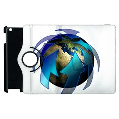Migration Of The Peoples Escape Apple Ipad 3/4 Flip 360 Case