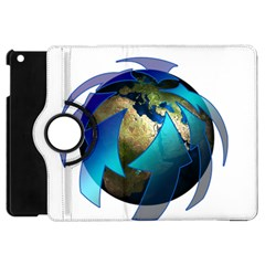Migration Of The Peoples Escape Apple Ipad Mini Flip 360 Case