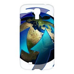 Migration Of The Peoples Escape Samsung Galaxy S4 I9500/i9505 Hardshell Case