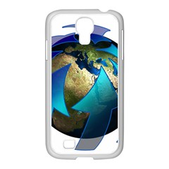 Migration Of The Peoples Escape Samsung Galaxy S4 I9500/ I9505 Case (white)