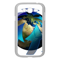 Migration Of The Peoples Escape Samsung Galaxy Grand Duos I9082 Case (white)