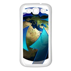 Migration Of The Peoples Escape Samsung Galaxy S3 Back Case (white)