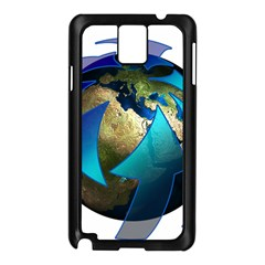 Migration Of The Peoples Escape Samsung Galaxy Note 3 N9005 Case (black)