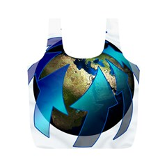 Migration Of The Peoples Escape Full Print Recycle Bags (m)