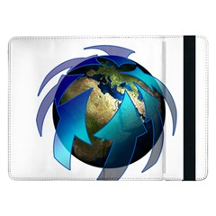 Migration Of The Peoples Escape Samsung Galaxy Tab Pro 12 2  Flip Case