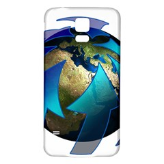 Migration Of The Peoples Escape Samsung Galaxy S5 Back Case (white)